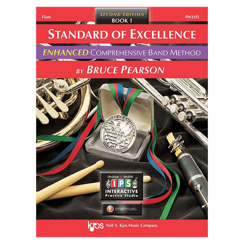Kjos Standard of Excellence ENHANCED Book 1 - Flute