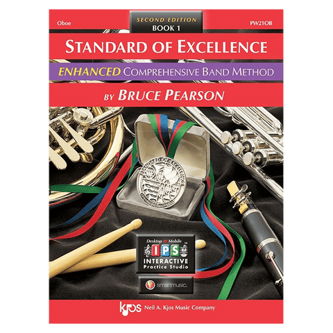 Kjos Standard of Excellence ENHANCED Book 1 - Oboe