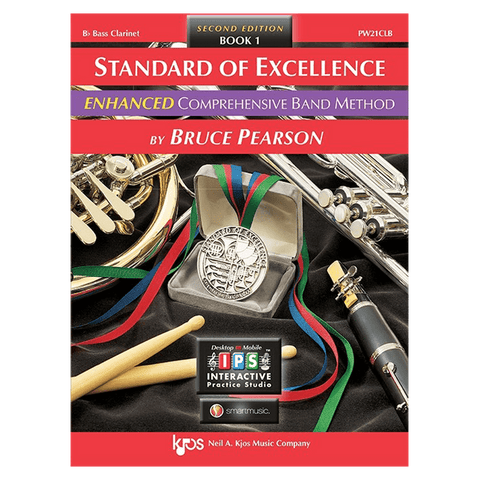Kjos Standard of Excellence ENHANCED Book 1 - Bass Clarinet