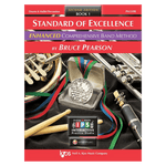 Kjos Standard of Excellence ENHANCED Book 1 - Percussion