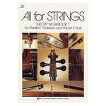Kjos All For Strings Theory Workbook 1 - Violin