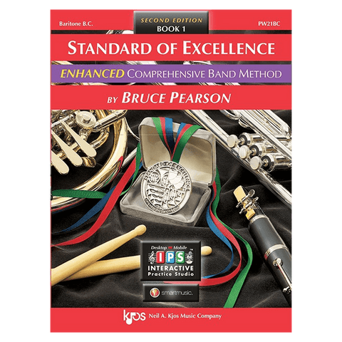Kjos Standard of Excellence ENHANCED Book 1 - Baritone BC