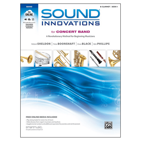 Alfred Sound Innovations for Concert Band, Book 1 — Clarinet