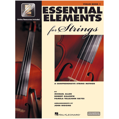 Essential Elements For Strings Violin, Book 1 with EEi