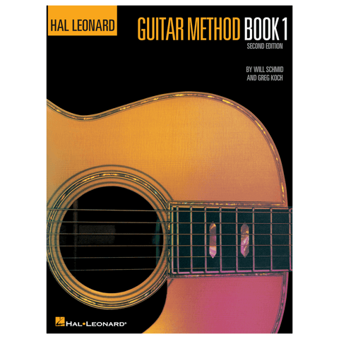 Hal Leonard Guitar Method Book 1 (book only)