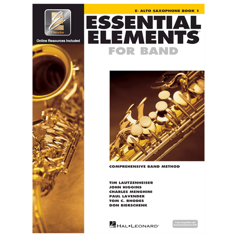 Essential Elements for Band – Alto Sax Book 1 with EEi