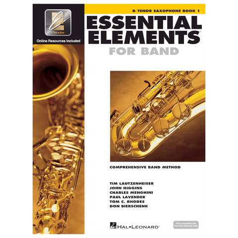Essential Elements for Band – Tenor Sax Book 1 with EEi