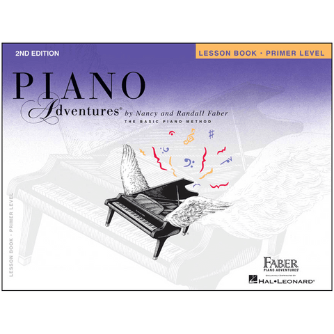Faber Piano Adventures® Primer Level – Lesson Book