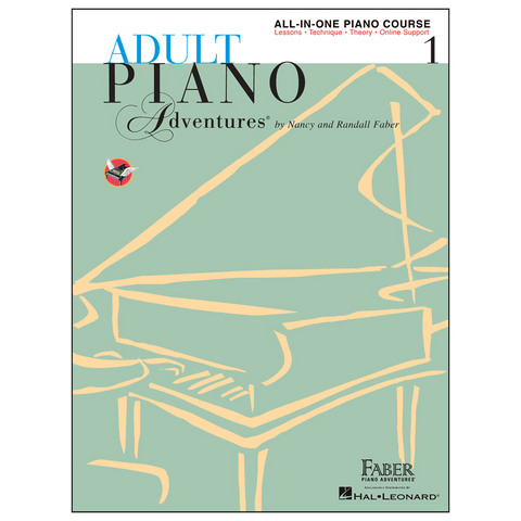Faber Adult Piano Adventures All-In-One Course