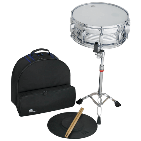 Percussion Plus Backpack Snare Drum Kit, PSK300