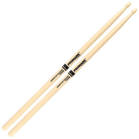 Promark Hickory 5A Wood Tip drumstick – TX5AW