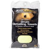 Music Nomad - Microfiber Drum Detailing Towels - 2 Pack MN210