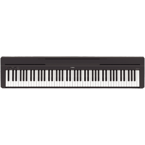 Yamaha P-45B Digital Piano, 88-Key, Graded Hammer, C-stock