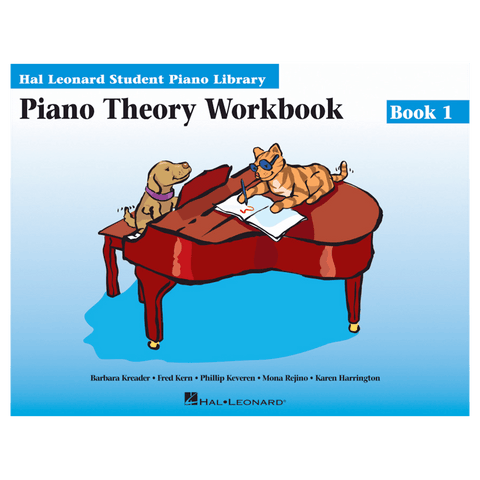 Hal Leonard Piano Theory Workbook Book 1