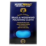 Music Nomad - Brass & Woodwind Microfiber Polishing Cloth MN730