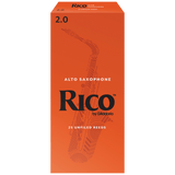 Rico by D'Addario Alto Sax Reeds, 25-pack – RJA25