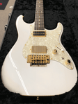 Tom Anderson Drop Top Classic — Arctic White with Binding