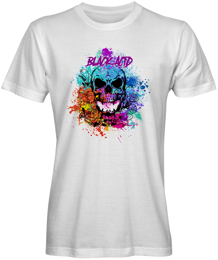 Black Acid #19 - Butterfly Skull T-Shirt