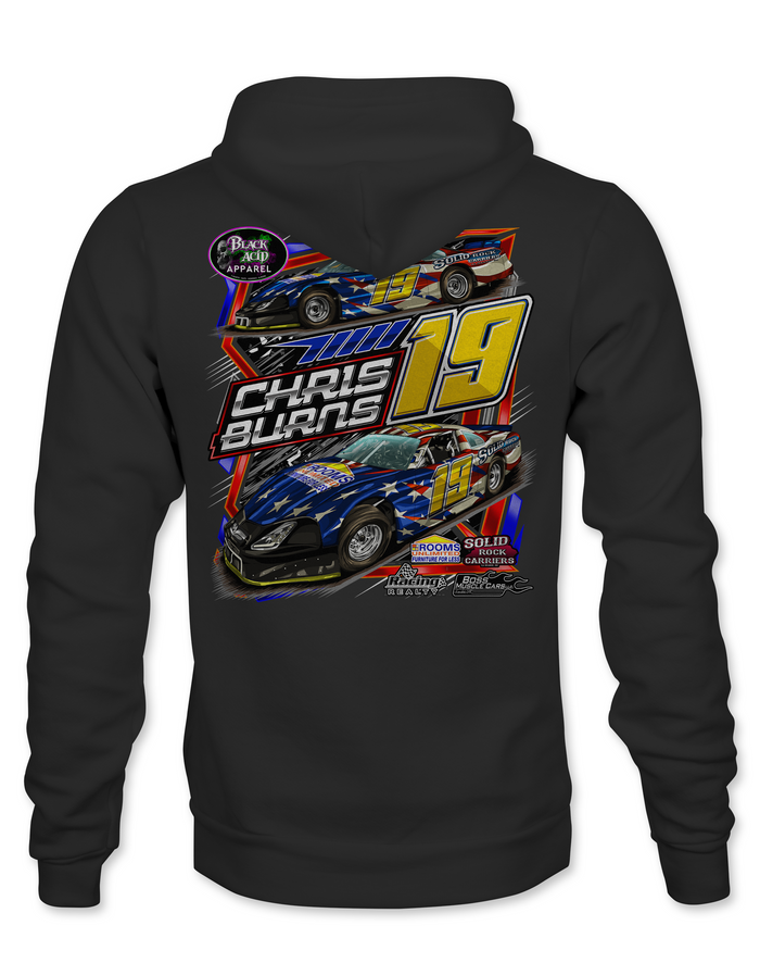 Chris Burns Hoodies