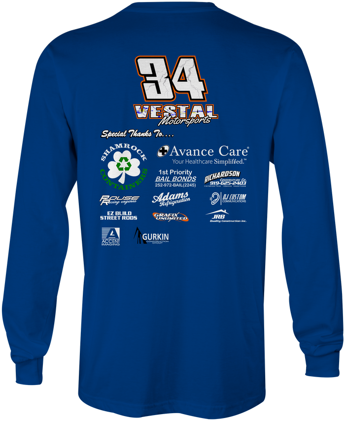 Chris Vestal Long Sleeves