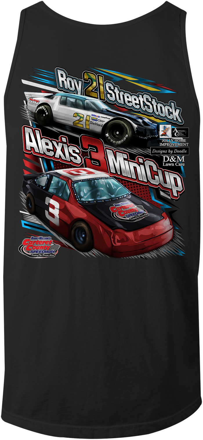 Combs Family Racing Tank Tops