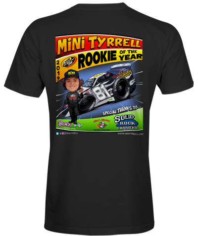 LIMITED EDITION Mini Tyrrell Toon T-Shirts