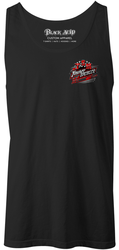 Tommy Spencer Motorsports Tank Tops Design #2
