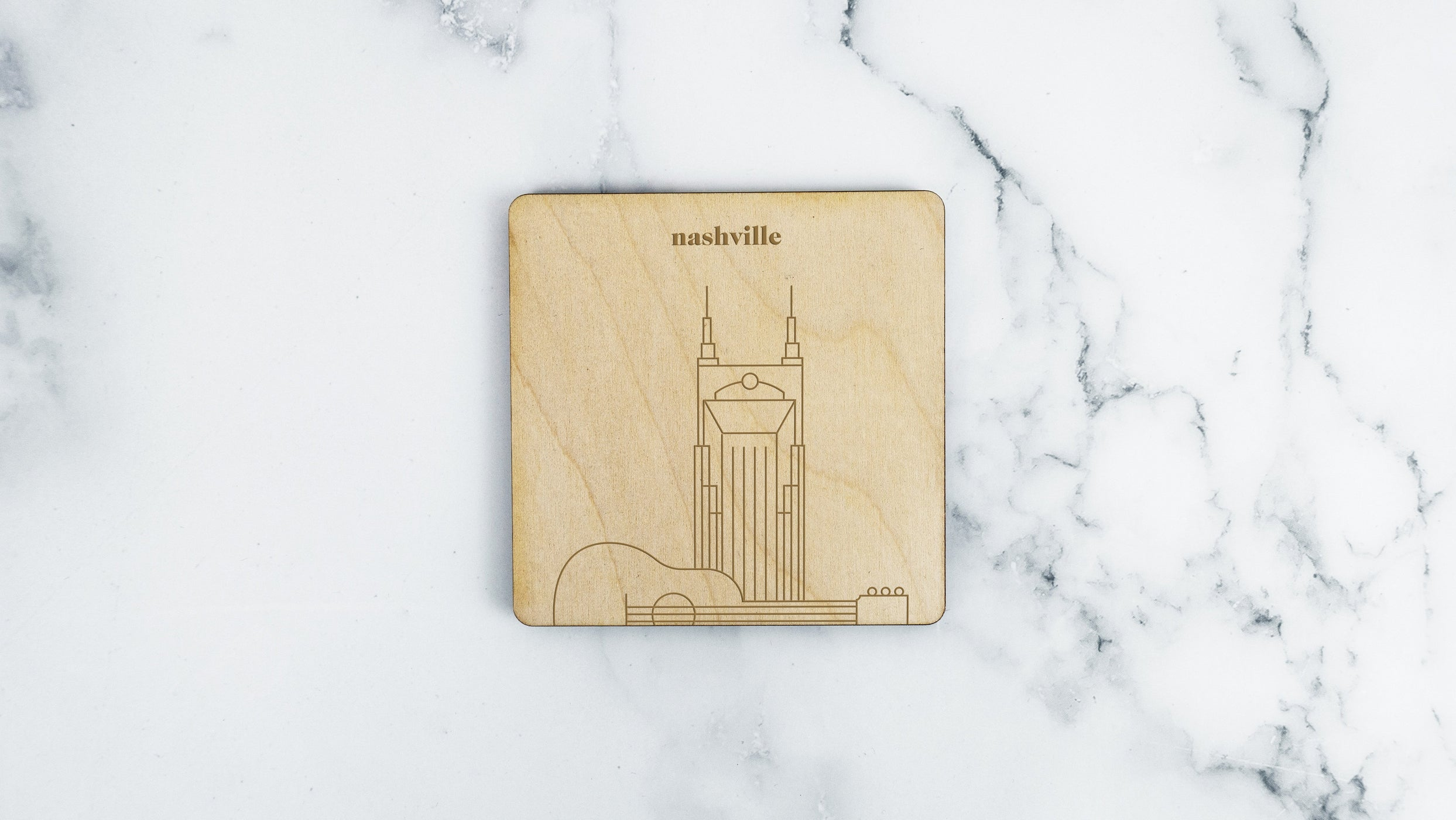 AT&T Building Coaster