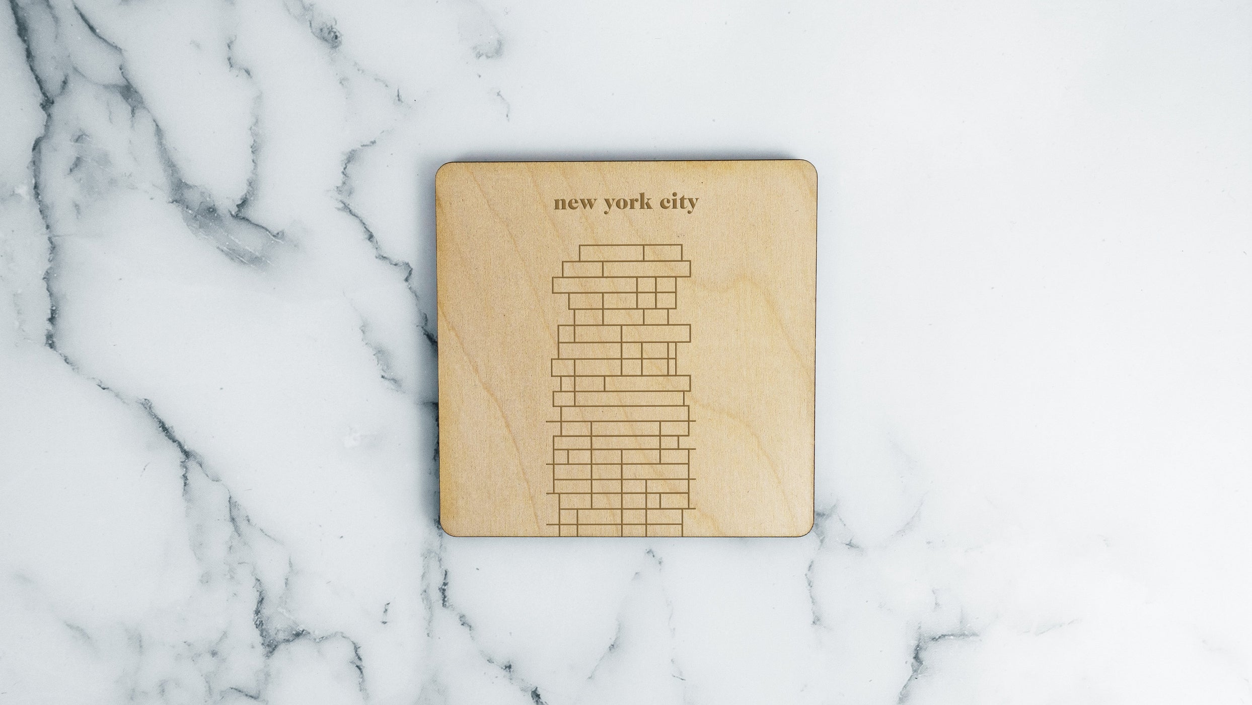 New York City, 56 Leonard Coaster