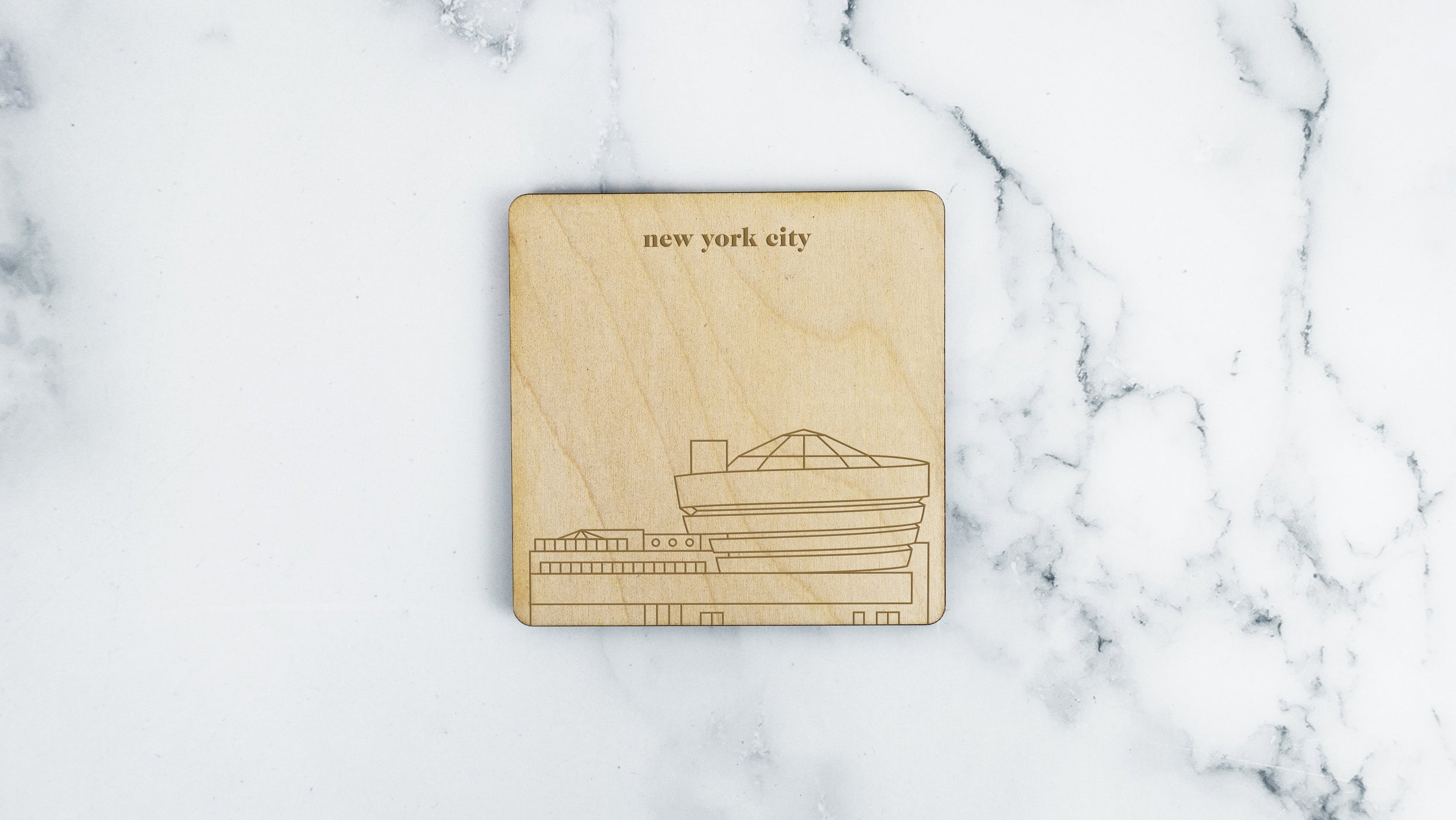 New York City, Guggenheim Museum Coaster