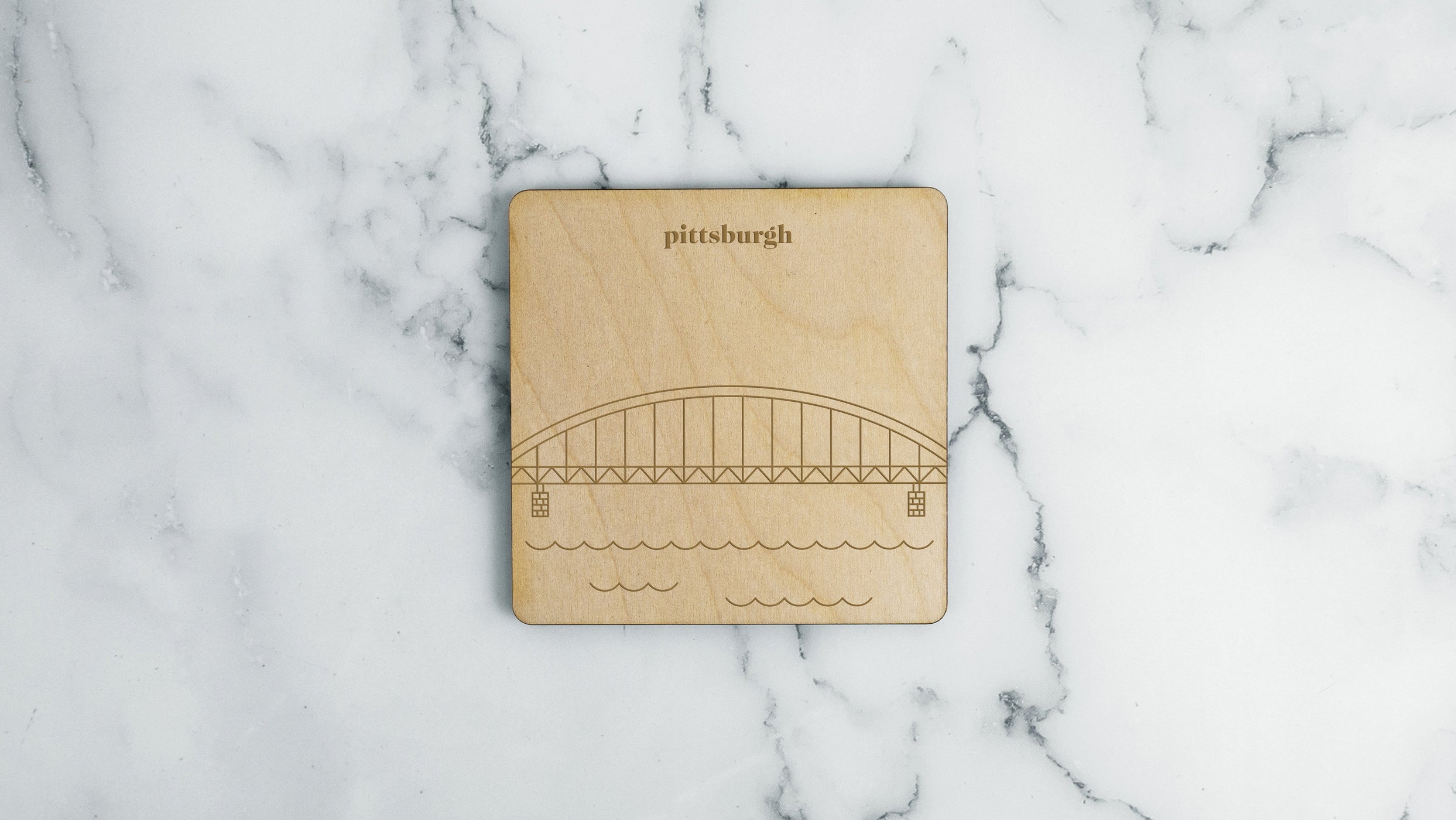 Pittsburgh, Fort Duquesne Bridge Coaster