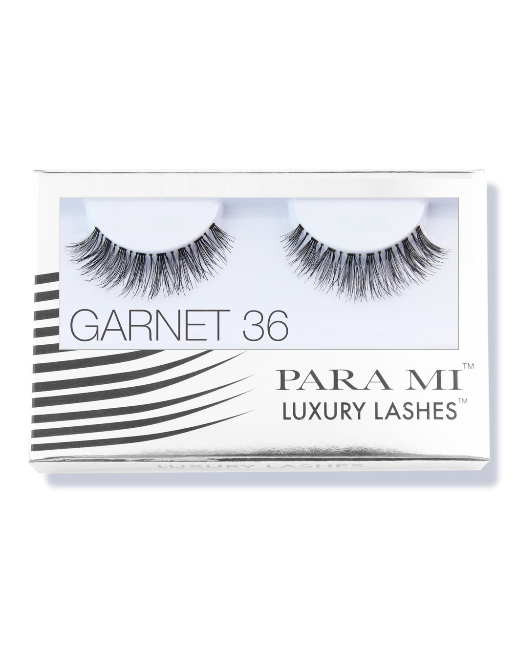 Luxury Lashes Eyelashes - Garnet 36