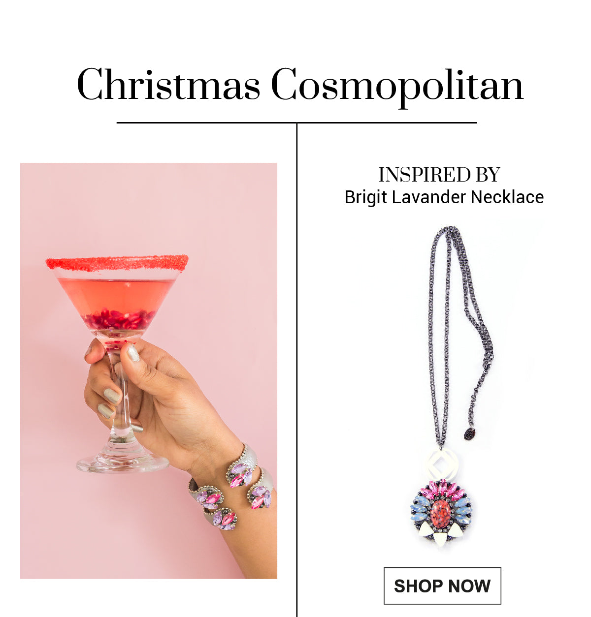Christmas Cosmopolitan to share with friends.