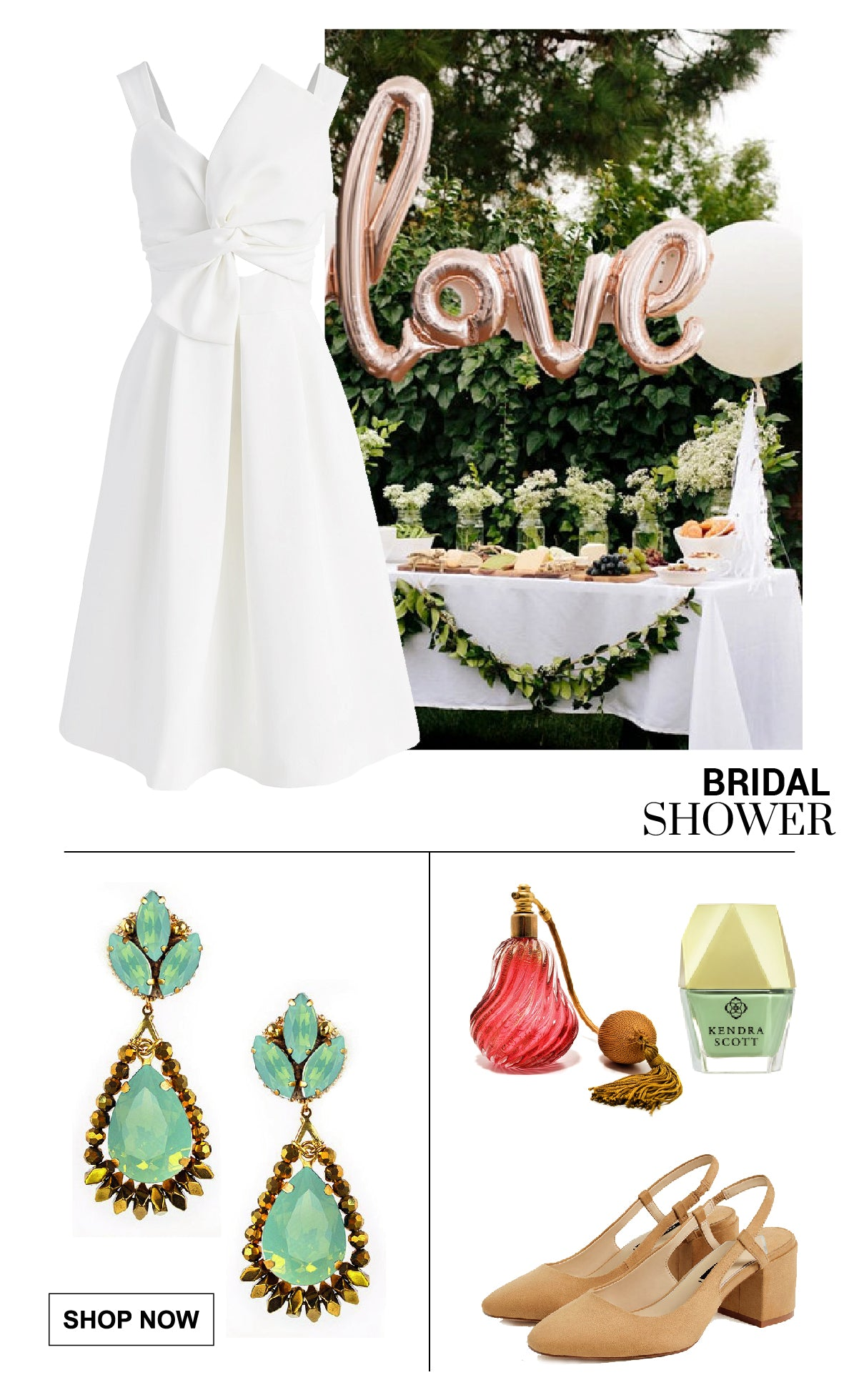 look for a bridal shower.
