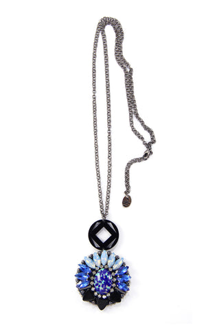 Brigit Midnight Pendant Necklace
