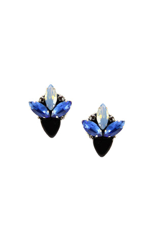 Dora Midnight Studs | Aretes Dora Midnight