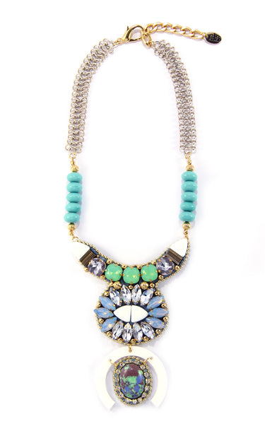 Karin Seafoam Necklace | Collar Karin Seafoam