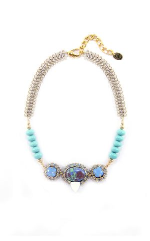 Luzie Seafoam Necklace | Collar Luzie Seafoam