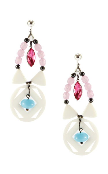 Yvonne Lavender Earrings | Aretes Yvonne Lavender