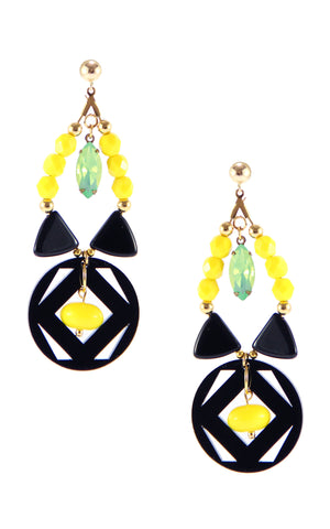 Yvonne Spectrum Earrings | Aretes Yvonne Spectrum