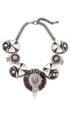 Cassandra Violet Necklace