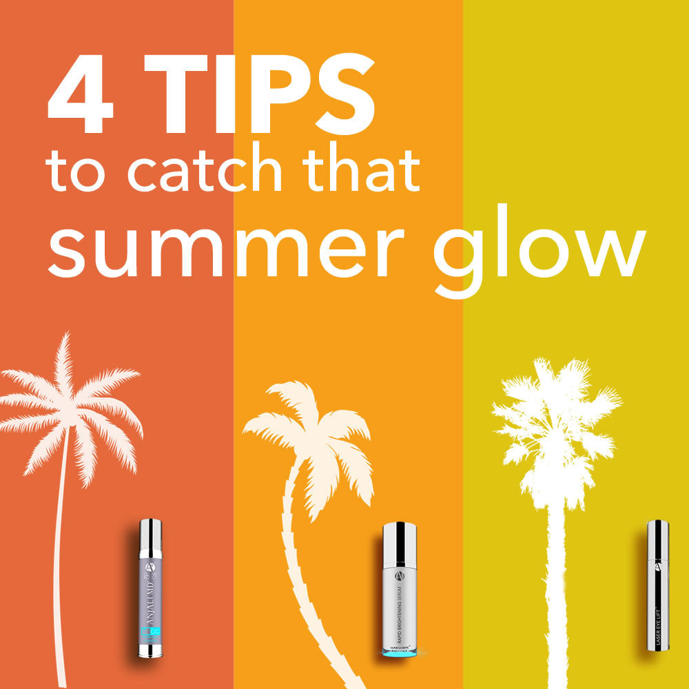 Tips to catch that summer glow