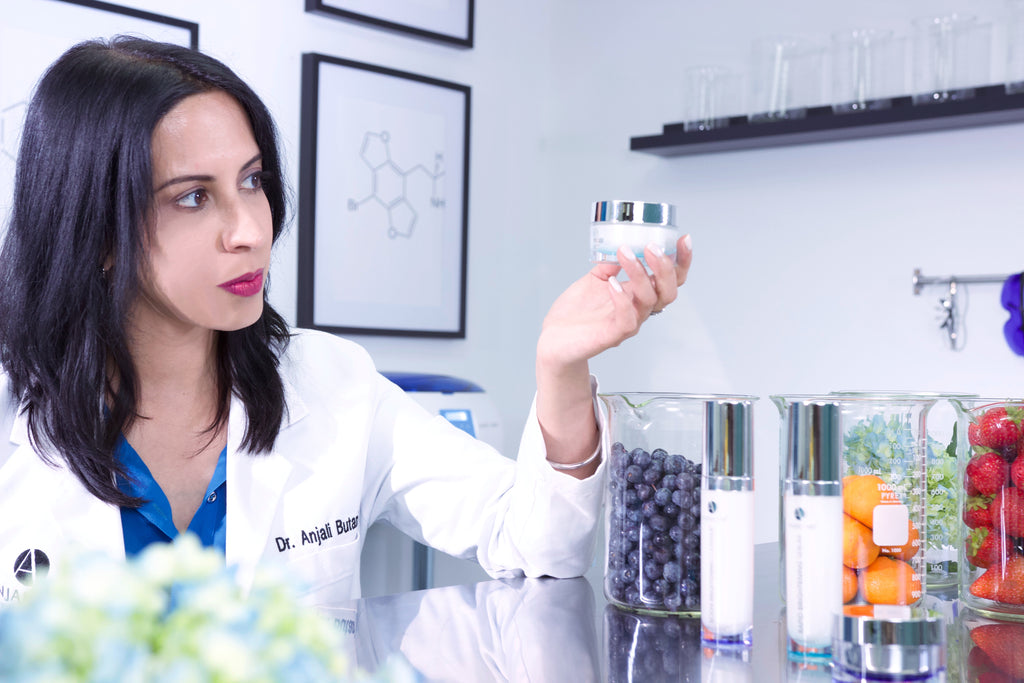 Dr. Anjali in the Lab