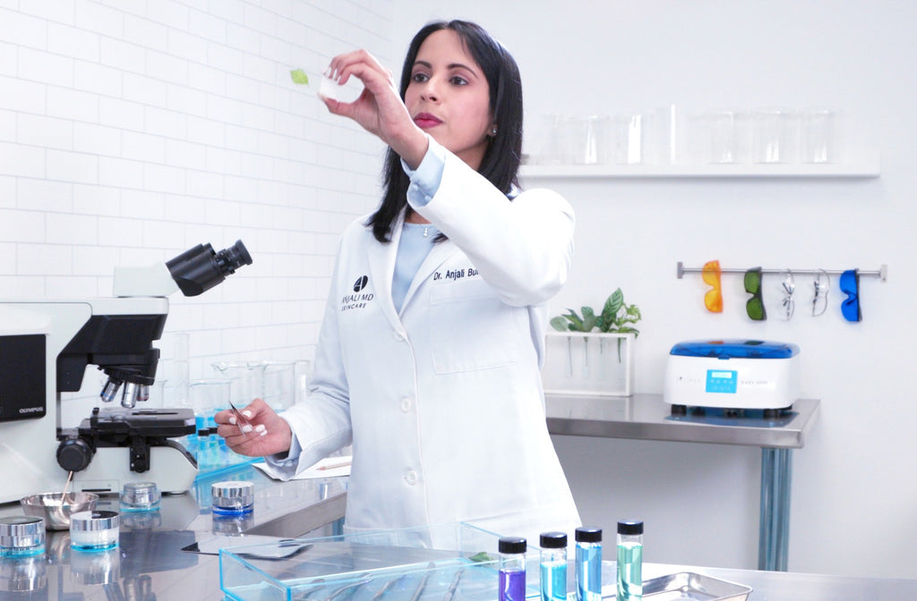 Dr. Anjali in the Laboratory