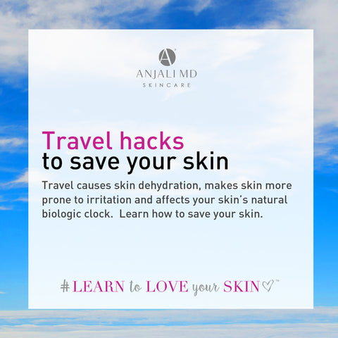 Learn travel hacks to save your skin next time you fly