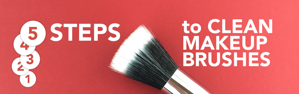 ANJALI MD Skincare Learn To Love Your Skin Blog 5 Steps To Clean Make Up Brushes