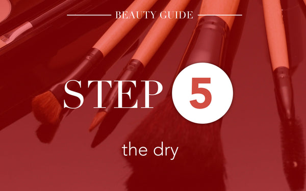 5 Steps To Clean Make Up Brushes-Step 5:The Dry