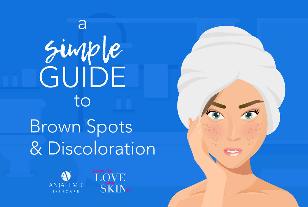 ANJALI MD Learn To Love You Skin, A Simple Guide To Brown Spots and Discolorations