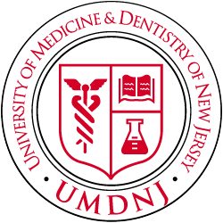 University of Medicine & Dentistry of New Jersey Emblem