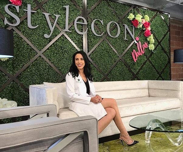 Dr. Anjali Butani at Stylecon in Dallas, TX 2018